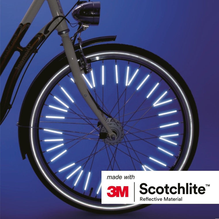 Salzmann 3M Scotchlite Reflective Spoke Reflector Clips