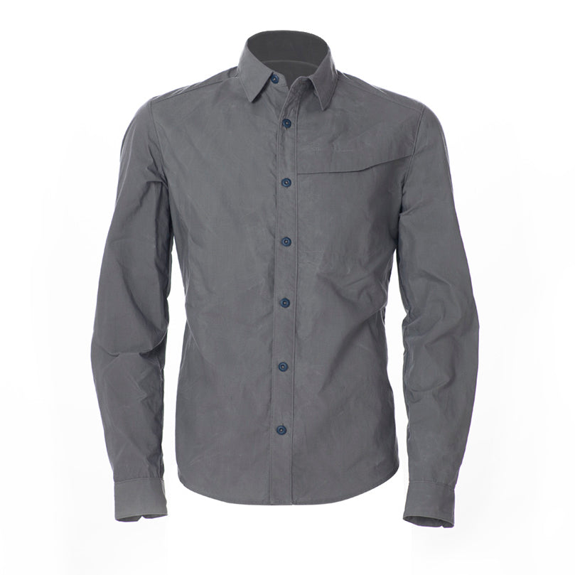 ArchiTec Livingstone Overshirt - Ash Overshirt- Parker Dusseau : Functional Menswear Essentials for the Always Ready Lifestyle. Based in San Francisco, California