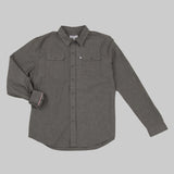 Classic Work Shirt - Charcoal Work Shirt- Parker Dusseau : Functional Menswear Essentials for the Always Ready Lifestyle. Based in San Francisco, California