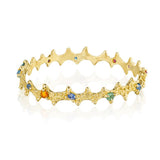 18K Gold Sea Urchin Bracelet by Jane Bartel at Garden of Silver in Westhampton Beach, New York, Long Island, New York.