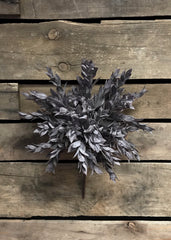 "ITEM 11220 BUR - 15"" RUSCUS LEAVES BUSH"