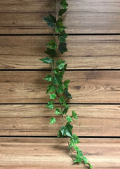 ITEM 12216 - 6 FOOT GREEN ENGLISH IVY GARLAND WITH 98 LEAVES