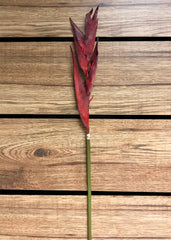 "ITEM 00907 R - 33"" RED EXOTIC HELICONIA SPRAY"