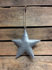 "ITEM KOP 21905 - 4.75"" GALVANIZED 3D METAL STAR"