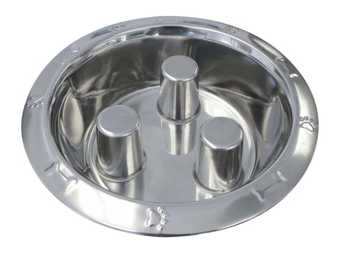Embossed Stainless Steel Brake-Fast Bowl