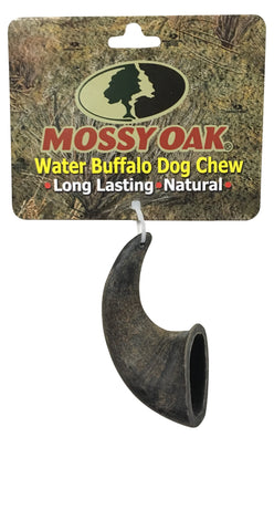 Mossy Oak Water Buffalo Horn Dog Chews