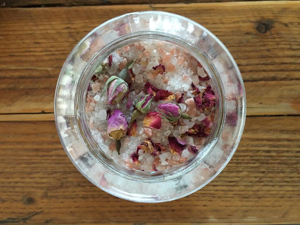 home made aromatherapy bath salts