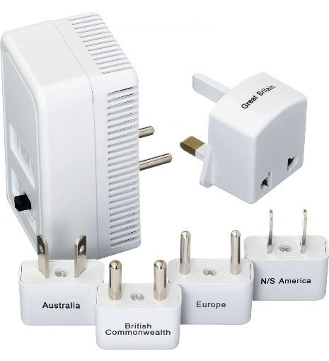 Worldwide Adaptor Kit + Convertor