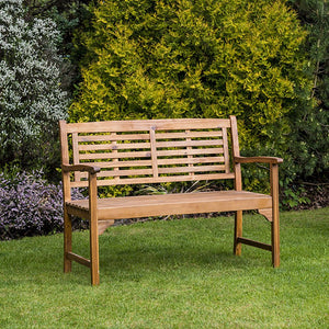 Alexander Rose 4ft Acacia Bracket Bench