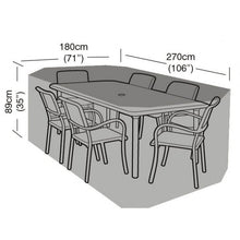 Load image into Gallery viewer, Garland Deluxe 6 Seat Rectangular Dining Garden Furniture Set Cover (W1412)