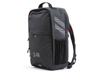 Two Wheel Gear - Pannier Backpack Convertible - Bike Bag - Graphite Grey - Side Profile