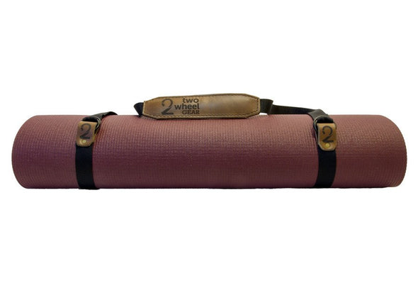 Yoga Mat Sling Cognac Tan, Accessories - Two Wheel Gear, Two Wheel Gear - 1