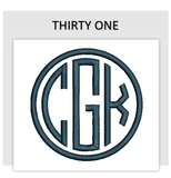 Font THIRTY ONE