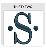 Font THIRTY TWO