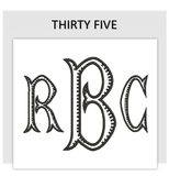 Font THIRTY FIVE