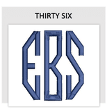 Font THIRTY SIX