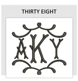 Font THIRTY EIGHT