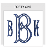 Font FORTY ONE