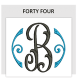 Font FORTY FOUR
