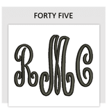 Font FORTY FIVE
