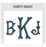 Font FORTY EIGHT