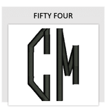 Font FIFTY FOUR