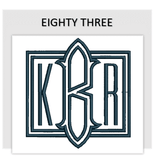 Font EIGHTY THREE