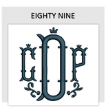 Font EIGHTY NINE