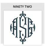 Font NINETY TWO