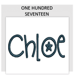 Font ONE HUNDRED SEVENTEEN