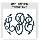 Font ONE HUNDRED TWENTY FIVE