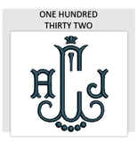 Font ONE HUNDRED THIRTY TWO