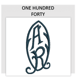 Font ONE HUNDRED FORTY