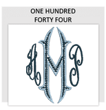 Font ONE HUNDRED FORTY FOUR