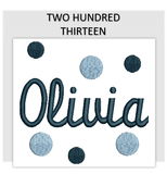 Font TWO HUNDRED THIRTEEN