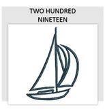 Font TWO HUNDRED NINETEEN
