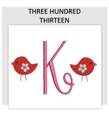 Font THREE HUNDRED THIRTEEN