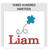 Font THREE HUNDRED NINETEEN