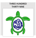 Font THREE HUNDRED THIRTY NINE