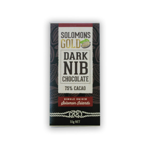 Solomons Gold Dark With Nibs