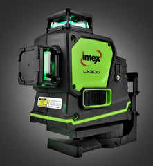 Imex 3 Multi-line laser Green Beam 3 x 360° Lines Laser Level, Multi Beam Laser