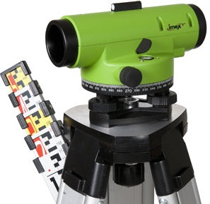 Imex LAR 32x Magnification Auto Level with Tripod & 5 Meter Staff, Dumpy Level, Automatic Level