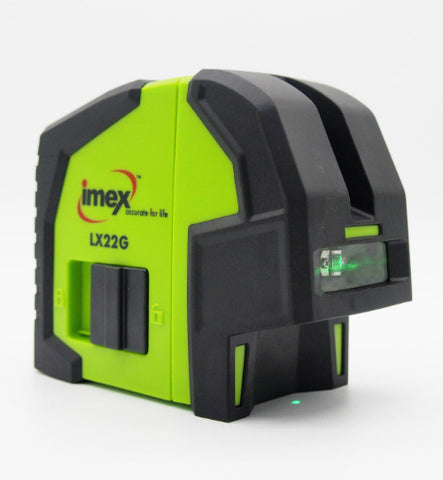 Imex LX22GS Green Beam Cross Plus Elevator Tripod 1.5 Meter, Laser Level, Cross Laser