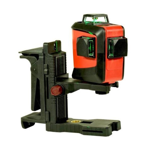 Tuf Lasers CROSSLINE - Green Beam Multi Line Laser Level 1x360 degree Horizontal & 2 Vertical beams