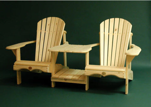 Bear Chair Pine Tete-a-Tete Kit