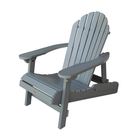 Highwood® Hamilton Folding & Reclining Adirondack Chair - Coastal Teak