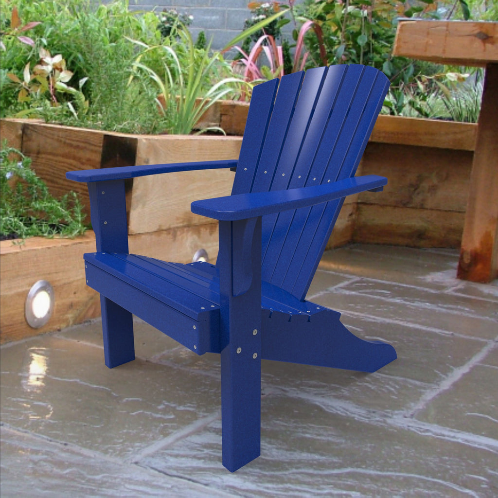 Malibu Outdoor Living Hyannis Adirondack Chair - Blue