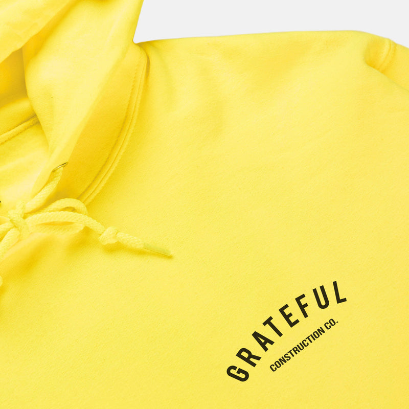 Grateful Construction Hoodie [Neon Yellow]