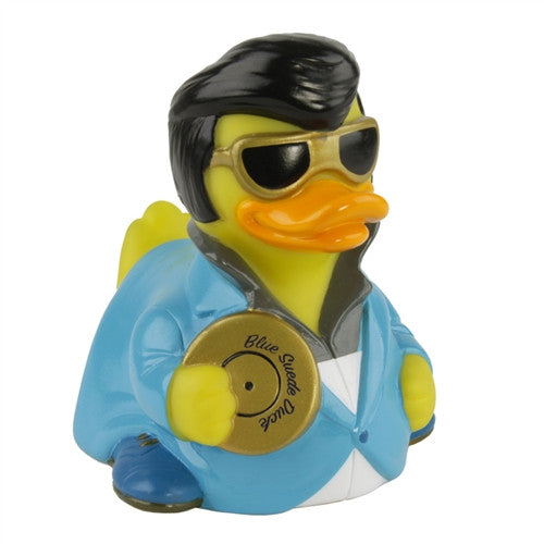 Blue Suede Rock and Roll Rubber Duckie  'NEW'
