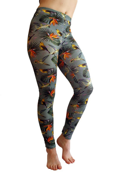Kubik leggings bird
